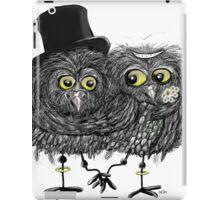wedding owls iPad Case/Skin