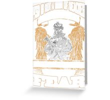 SOLIDER ANGEL Greeting Card