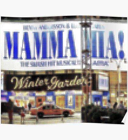 """Pixels Print """"MAMMA MIA"""" Poster"""