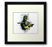 Ready to fight! Framed Print