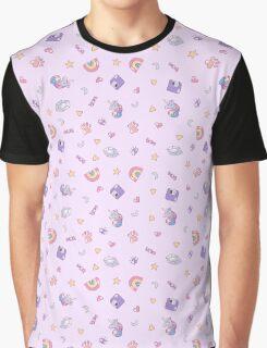Millennial Bugs Pattern Graphic T-Shirt