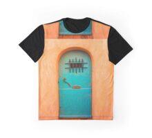 Vintage blue door Graphic T-Shirt