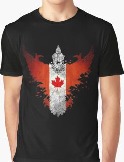 The Painting Art Of Canada Graphic T-Shirt