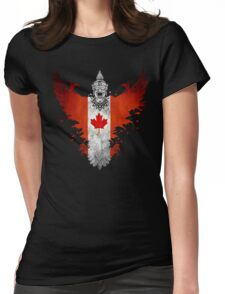 The Painting Art Of Canada Womens Fitted T-Shirt