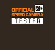 OFFICIAL SPEED CAMERA TESTER (3) Unisex T-Shirt