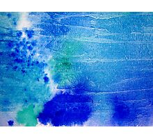 Oceans of Blue Photographic Print