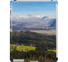 Zillertal Panoramic View iPad Case/Skin