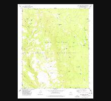 USGS TOPO Map Arizona AZ Oak Creek Ranch 312677 1977 24000 Unisex T-Shirt