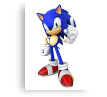 Modern Sonic Canvas Print