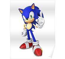 Modern Sonic Poster