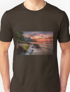 Rocky Beach Sunset Unisex T-Shirt