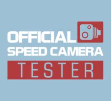 OFFICIAL SPEED CAMERA TESTER (7) Kids Tee