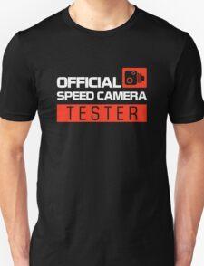 OFFICIAL SPEED CAMERA TESTER (7) T-Shirt