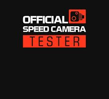 OFFICIAL SPEED CAMERA TESTER (7) Unisex T-Shirt