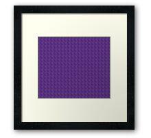 Purple Haze Design Framed Print