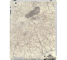 0207 Railroad Maps Boones map of the Black Diamond System of Railways J D McKisson del Perysville iPad Case/Skin