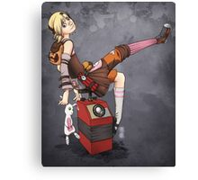 Lady Tina of Blowupyourfaceheim Canvas Print