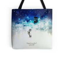 Beyond the clouds Tote Bag