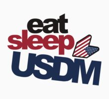 EAT SLEEP USDM (3) by PlanDesigner