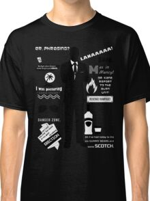 Sterling Archer — Quotes Classic T-Shirt