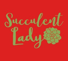 Succulent lady Kids Tee