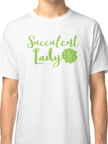 Succulent lady Classic T-Shirt