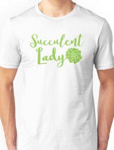 Succulent lady Unisex T-Shirt