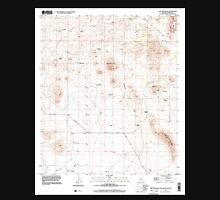 USGS TOPO Map Arizona AZ Hay Mountain 311699 1996 24000 Unisex T-Shirt