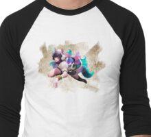 Arcade Ahri Paper Men's Baseball ¾ T-Shirt