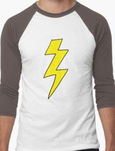 Scott Pilgrim VS the World - Lightning Bolt Shirt - Knives Chow Men's Baseball ¾ T-Shirt