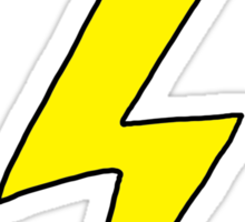 Scott Pilgrim VS the World - Lightning Bolt Shirt - Knives Chow Sticker