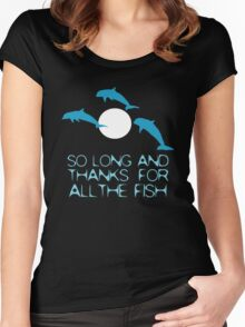 The Fish Women's Fitted Scoop T-Shirt