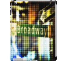 "Pixels Print ""BROADWAY"" iPad Case/Skin"