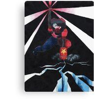 Electrifying Conversation Canvas Print