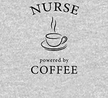 Nurse, powered by coffee Women's Fitted Scoop T-Shirt