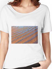 beach stripes Women's Relaxed Fit T-Shirt
