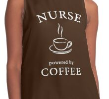 Nurse, powered by coffee Contrast Tank
