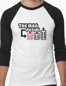 The Man Pedal (2) Men's Baseball ¾ T-Shirt