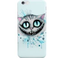 Cheshire Watercolor  iPhone Case/Skin