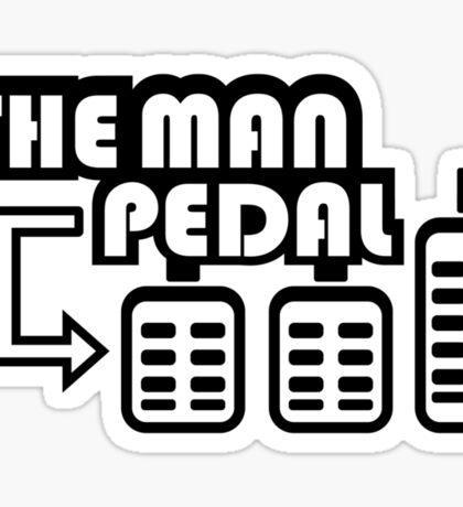 The Man Pedal (3) Sticker