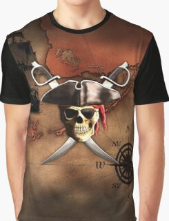 Pirate Map Graphic T-Shirt
