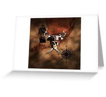 Pirate Map Greeting Card