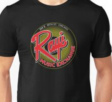 Ray's Music Exchange - Red Variant Unisex T-Shirt