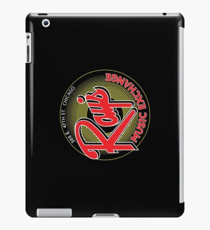 Ray's Music Exchange - Red Variant iPad Case/Skin