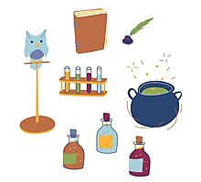 Potions Class Photographic Print