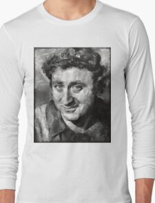 Gene Wilder Hollywood Actor Long Sleeve T-Shirt