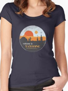 Welcome to Tatooine Women's Fitted Scoop T-Shirt