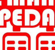 The Man Pedal (6) Sticker