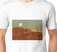 Moon Over Mount Ida Unisex T-Shirt