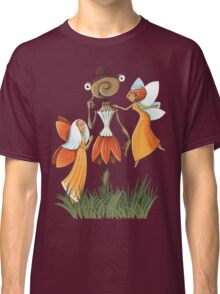 Poppy Scarecrow and Butterfly fairy Classic T-Shirt